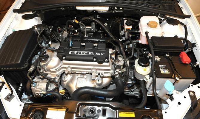 Бензиновый двигатель DOHC