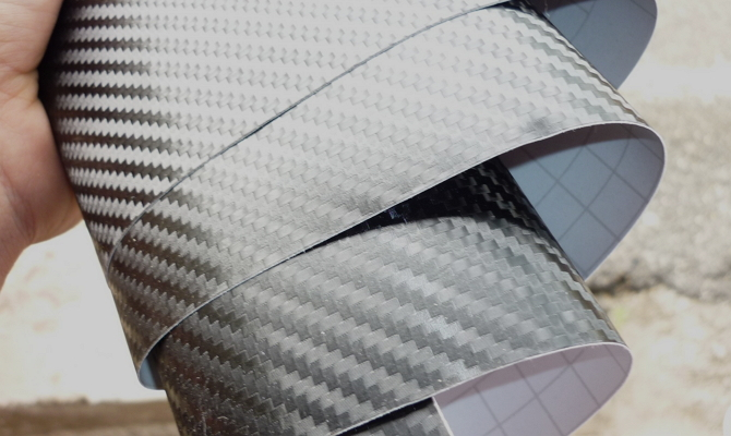 Карбоновая плёнка с 3D-эффектом