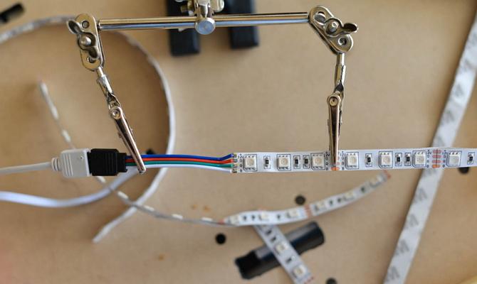 Соединение светодиодов и штатной проводки задних фонарей