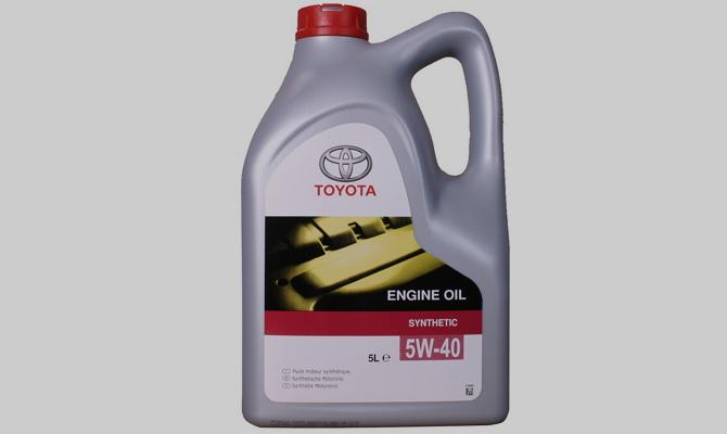 Обзор популярных видов моторного масла от компании Тойота
