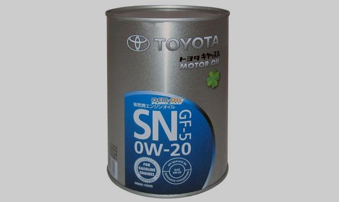 Тест масла для современных двигателей Toyota 0w20