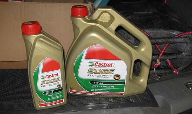 Более густое зимнее масло 5W