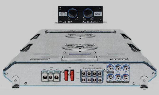 Многоканальное устройство для усиления магнитолы