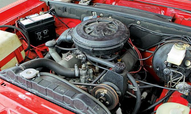 Силовой агрегат от Форда Гранада