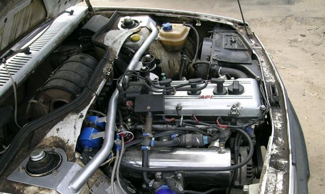 Установка нового мотора