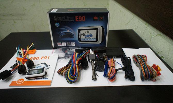 Охранное устройство с автоматическим запуском от турботаймера