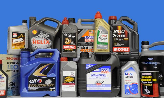 Автомобильные масла для двигателя