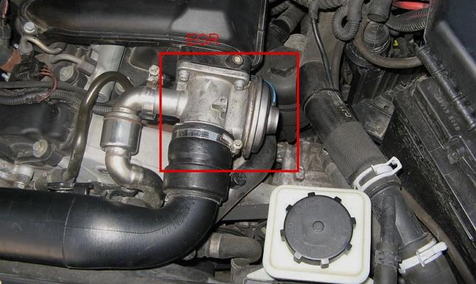 Клапан ЕГР для рециркуляции отработанных газов