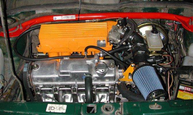 Усовершенствование двигателя