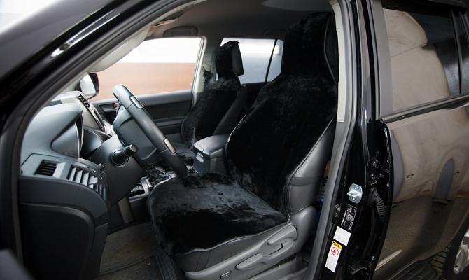 Накидки на сиденья авто из меха