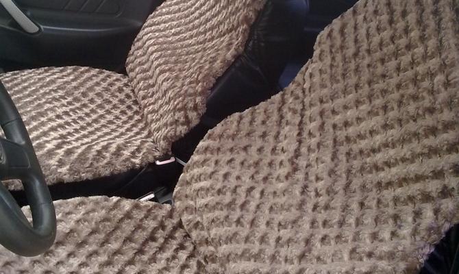 Изготовление накидок для сидений