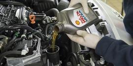 Качественное моторное масло Шелл
