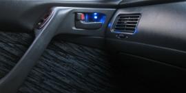 Подсветка ручек дверей – улучшаем эксплуатацию авто ночью