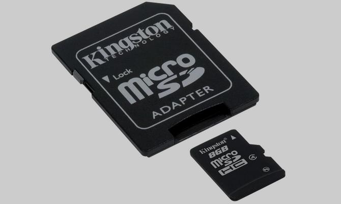 Карта памяти micro-SD