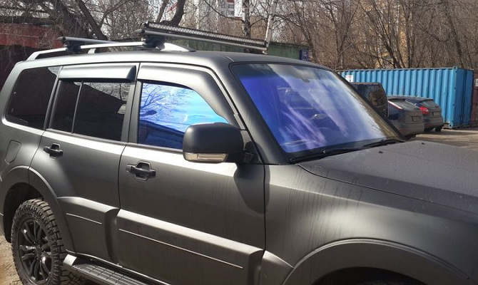 Тонировка пленкой боковых стекол авто