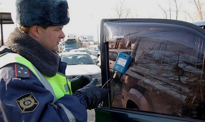Разрешение на тонировку передних стекол