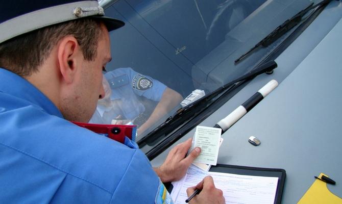 Денежный штраф за тонирование транспортного средства