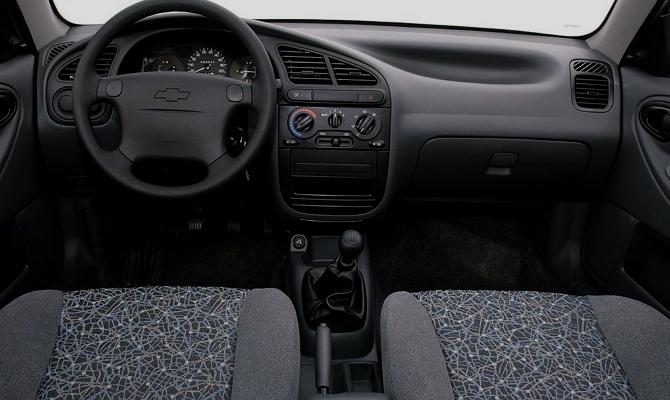 Салон автомобиля эконом-класса
