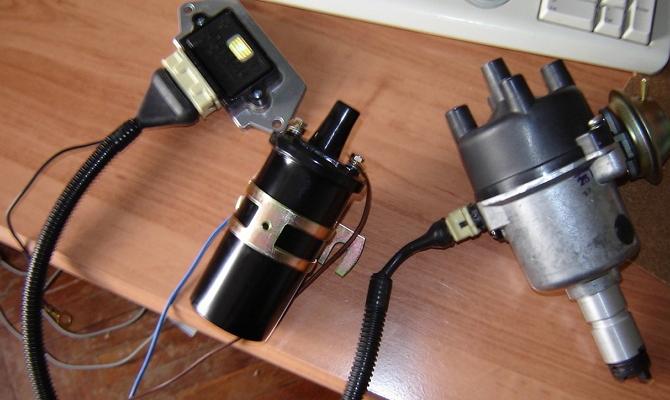 Вакуумный регулятор угла опережения зажигания