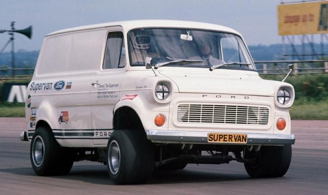 Микроавтобус двигателем GT40 V8