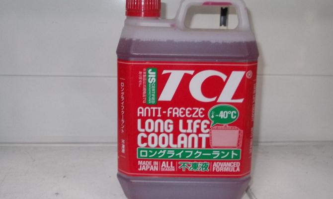Охлаждающая жидкость TCL в пластиковой канистре