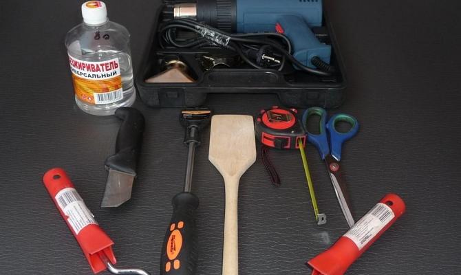 Набор инструментов для шумоизоляции авто