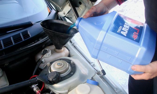 Жидкость для охлаждения мотора машины