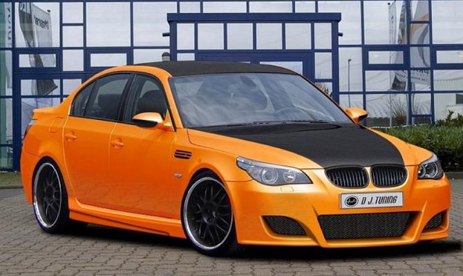 Улучшение внешнего дизайна автомобиля БМВ