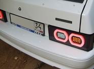 Задние и передние фары на ВАЗ 2114 — самостоятельный тюнинг