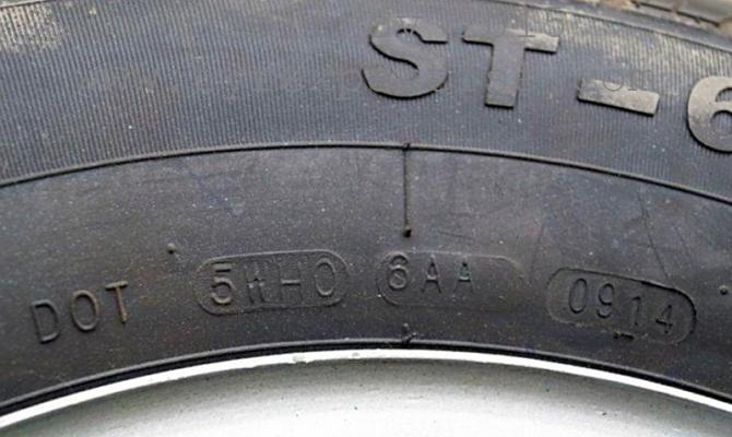 Маркировка на шинах «DOT»