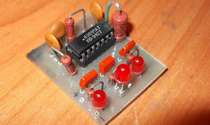 Микросхема К561ЛА7