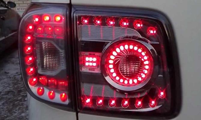 Светодиодная оптика Nissan Patrol Y62