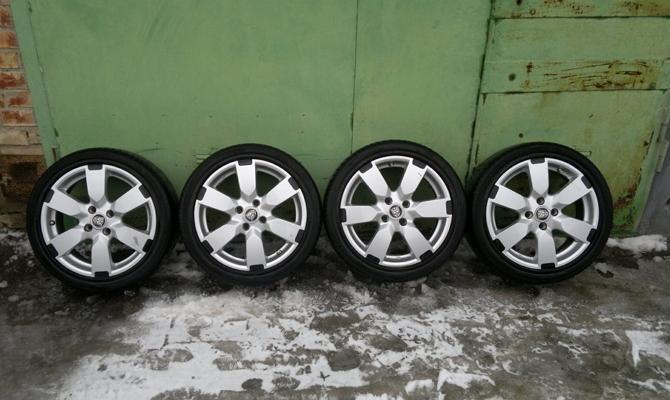 Диски колес Nissan Note