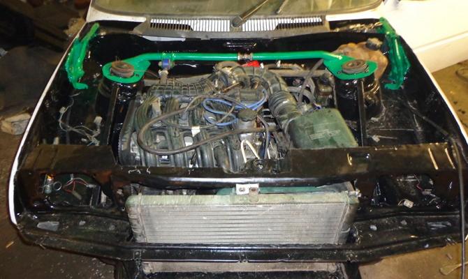 Замена двигателя ЗАЗ 1102