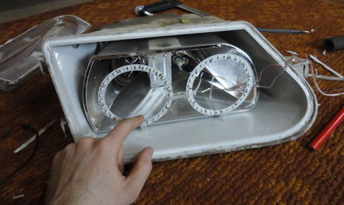 Сборка резисторов и светодиодов для оптики «ProSport»