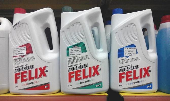 Охладительные жидкости марки «Феликс»