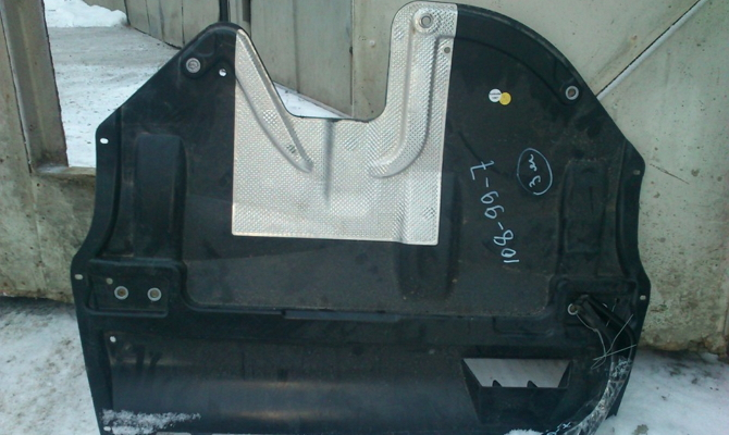 Стандартный пластиковый набор для защиты картера