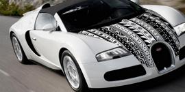 Наклейки на капот машины – эффектные изображения для индивидуальности авто