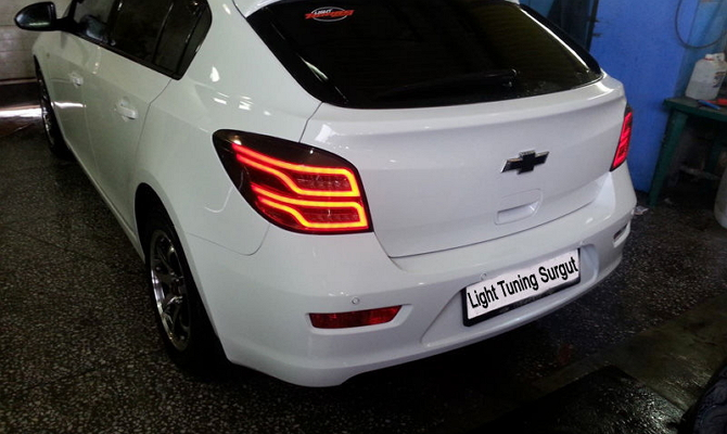 Улучшение задних фонарей авто