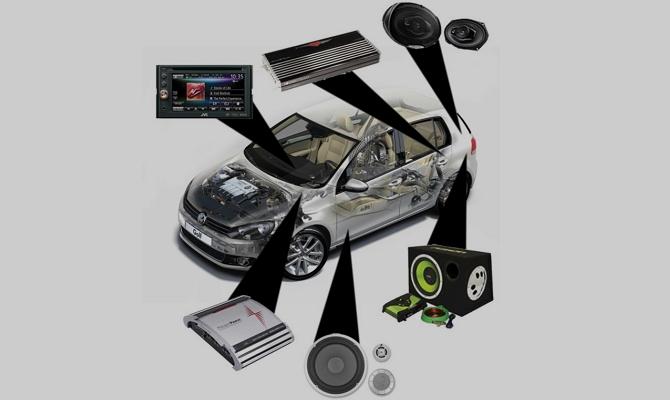 Комплектация современной аудиосистемы авто