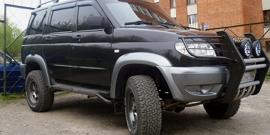 Кенгурин на УАЗ Патриот – самостоятельное изготовление полезного аксессуара