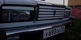 Замена решетки радиатора ВАЗ 2107 – простые решения большой проблемы