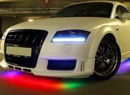 Светодиодная лента на авто – незаменимый аксессуар для яркого тюнинга