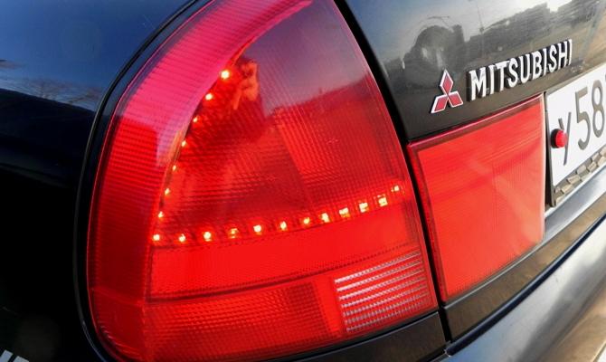 Тонировки оптики Mitsubishi