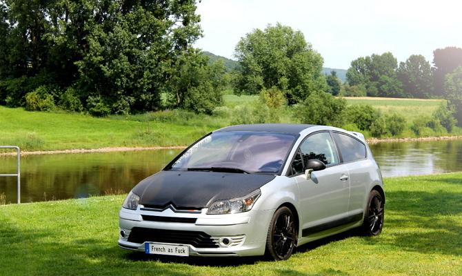 Замена штатных молдингов французского авто