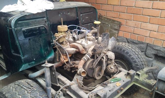 Технический тюнинг советского раритета – замена мотора и КПП