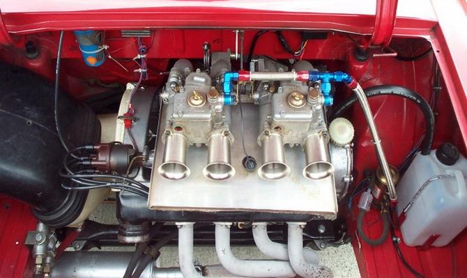 Замена двигателя машины – для повышения мощности и динамики