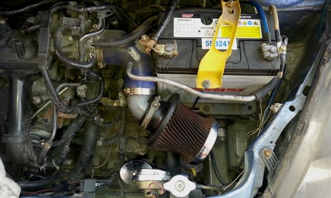 Монтаж фильтра-нулевика – выжимаем максимум из мотора Fit
