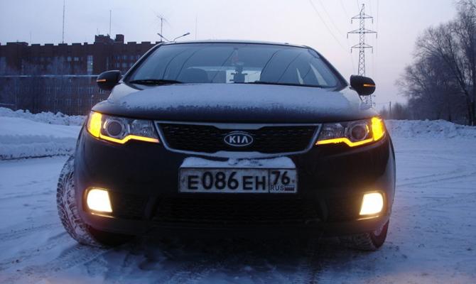 Самостоятельный монтаж светодиодов в оптику купе