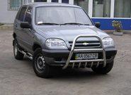 Кенгурятник на Ниву – оригинальный облик и дополнительная защита автомобиля
